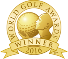 Portugal's Best Golf Course 2016 Winner Shield Gold Awards
