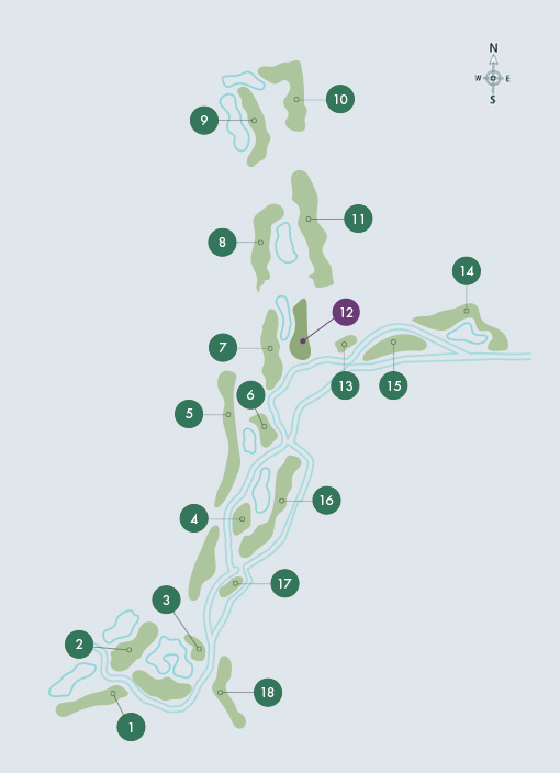 O'Connor Jnr. Course - Hole 12