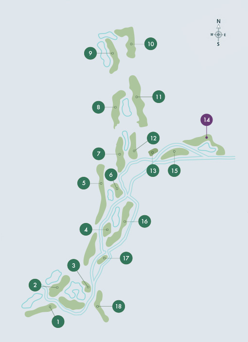 O'Connor Jnr. Course - Hole 14