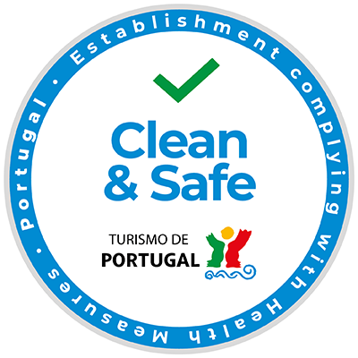 Selo Safe and Clean Turismo de Portugal